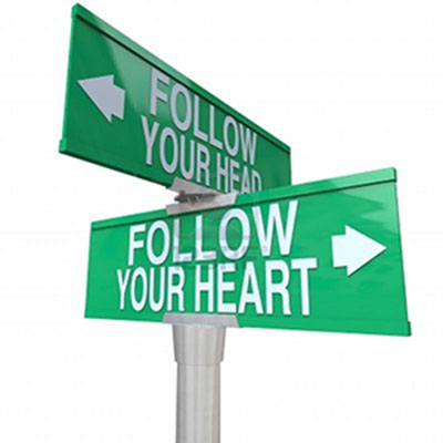 Do You Love With Your Head Or Your Heart