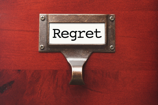 Are You Living With Regret?